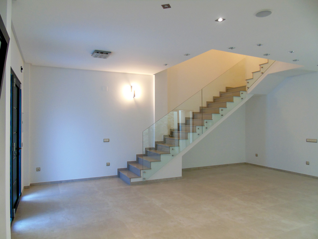 Escalera Vivienda Meliana Proyectos Levante